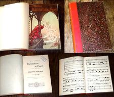 la damnation de Faust légende dramatique partition piano chant 1924 Berlioz