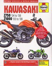 2003-2008 Kawasaki Z750 Z1000 Service Repair Workshop Shop Manual Book 3434 (Fits: Kawasaki)