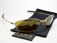 OAKLEY WHISKER GOLD SONNENBRILLE PROBATION PLAINTIFF TIGHTROPE TAILHOOK SPLINTER