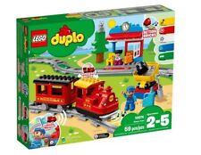 10874 STEAM TRAIN motorized LEGO duplo NEW legos set duplos NISB light sound