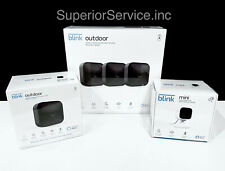 New Blink Security Camera System w Mini Indoor/Outdoor Cameras & Sync Module 2