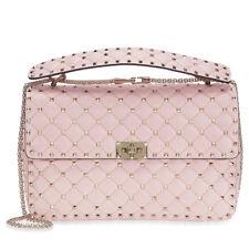 Valentino Rockstud Spike Leather Shoulder Bag - Pink