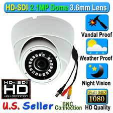 2.1Mp 1080P Hd Sdi Sony Starvis Color Night Cctv Dome Outdoor Camera Tvi Cvbs