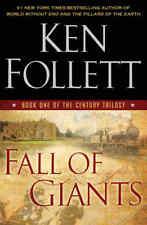 KEN FOLLETT FALL OF GIANTS THE CENTURY TRILOGY BOOK 1 HARDCOVER 1ST ED NEW