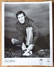 Chet Atkins  - 1985 Unsigned B & W Press Photo 8X10 - Glossy Photo Columbia 8203