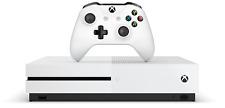 Microsoft Xbox One S 1TB 4K Consola De Juegos HDR en blanco | 12 meses de garantía Reino Unido