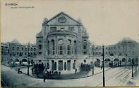 1546: Postkarte Ansichtskarte Barmen Neues Stadttheater gelaufen 1907