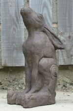 Celtic moon gazing hare, hand made for house or garden