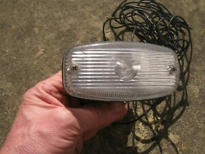VINTAGE SPARTO REVERSING LIGHT WITH CHROME BACK IN VERY GOOD CONDITION