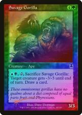 Savage Gorilla FOIL Apocalypse NM Green Common MAGIC GATHERING CARD ABUGames