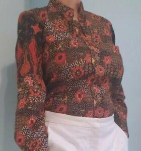 Women Long Blouse Traditional Indonesian Batik Outwear by FRAMETNIK
