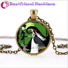 Nightmare Before Christmas jack&sally bronze necklace for woman man#TKL8