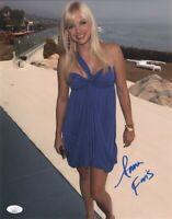 ANNA FARIS Authentic Hand-Signed ~SEXY HOUSE BUNNY~ 11x14 Photo (JSA COA)