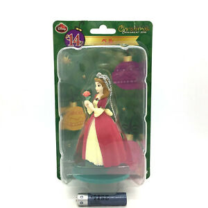 Disney Christmas Ornament 2016 Beauty and the Beast BELLE Mini Figure Anime Toy