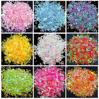 8g Holographic Sequins Alphabet Nail Art Glitter Resin Filling Jewelry DIY Craft