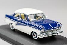 FORD TAUNUS 17M P2 Coupé 1957-1960 Blue/White DETAIL CARS 1:43