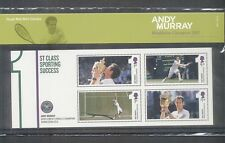 GB 2013 ANDY MURRAY WIMBLEDON CHAMPION STAMP PRESENTATION PACK