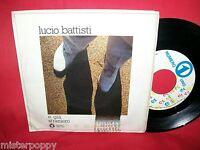 """LUCIO BATTISTI 7"""" 45 E già/Straniero 1982 MINT-"""