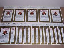 Easton Press bookplates for Harvard Classics Millennium, 20 counts (book plates)