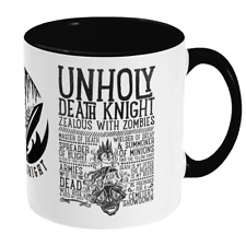 World of Warcraft / RPG inspired UNHOLY DEATH KNIGHT Mug - Gamer Gift