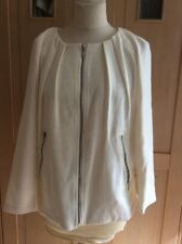 LOVELY FRENCH CONNECTION CREAM JACKET UK SIZE 6 BARELY WORN GOOD CONDITION