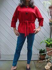 MICHAEL KORS Women's Red Jacket Size M (Runs small - see description)