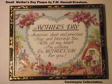 Piccola Festa della Mamma Tavolo la placca da F.W. Hannah di eveshama H1442.