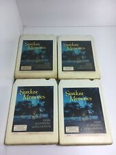 Readers Digest - Stardust Memories Relaxation - 8 Track Tapes Set Of 4 - NICE!