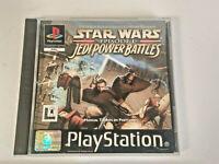 Star Wars Episode I: Jedi Power Battles (Sony PlayStation 1, 2000) - European