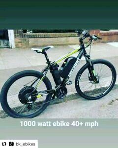BKe Ebikes - Custom builds 250, 500, 750, 1000 watts & more. Ig: bk_ebikes