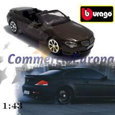 MODELLINO BURAGO BMW 645 CI CABRIO HAVANA BROWN 6 SERIES 1/43 DA COLLEZIONE STOK