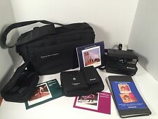 Polaroid Spectra SE System Instant Camera Filters Remote Tenba Case Bag Bundle