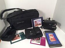 Polaroid Spectra SE System Instant Camera Filters Remote Tenba Case Bag Bundle
