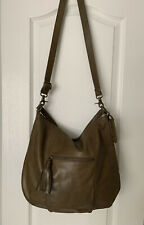 LUCLY BRAND BROWN LEATHER CROSSBODY  BAG