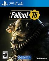 Fallout 76: Playstation 4 PS4 NEW Factory Sealed, Free Shipping