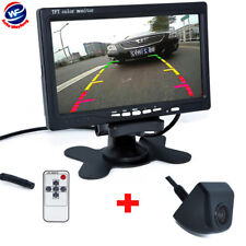 "7"" TFT LCD Monitor+Luxury Car Rear View System Reversing Backup Camera CCD"