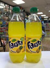 Fanta Pineapple Bottles 20oz (591ml) USA Import x 2