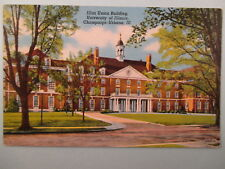ILLINI UNION BUILDING UNIVERSITY OF ILL. CHAMPAIGN-URBANA ILL. POSTCARD  8A7