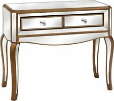 Glass Modern Console Tables with Drawers