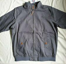 Neues AngebotLambretta Harrington Stahl Grau Jacke Vintage Mod - 2xl-RRP £ 80