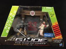 GI Joe Rise of Cobra Ninja Battles Snake Eyes Vs Storm Shadow New in Sealed Box