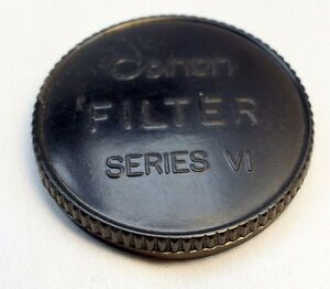 Canon Plastic Front lens cap cover  for series 6 VI filters screw in 44mm female