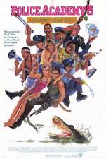 POLICE ACADEMY 5 ASSIGNMENT MIAMI BEACH Movie POSTER 27x40 Bubba Smith David
