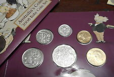 Australia RAM 2008 Uncirculated Baby Mint Coin Set with medal