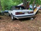 1983 Ford Mustang  1983 Ford Mustang Convertible White RWD Manual