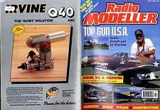 RADIO MODELLER MAGAZINE 1993 JUL ROGER STANTON'S DELTA 26 FREE PLANS, JEEPSTER