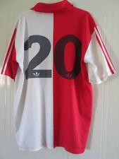 Feyenoord Match Worn no 20 1991-1992 home Football Shirt Size Adult XL /39243