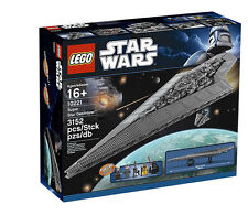 LEGO STAR WARS SUPER STAR DESTROYER (10221) - NO ORIGINAL BOX - FREE SHIPPING