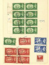 Lot:36741  GB GVI  1939 high Value blocks, pairs singles used