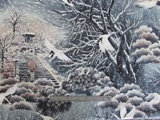 "Japanese fabric, ""Snow Festival""  for Hoffman of California metre piece"